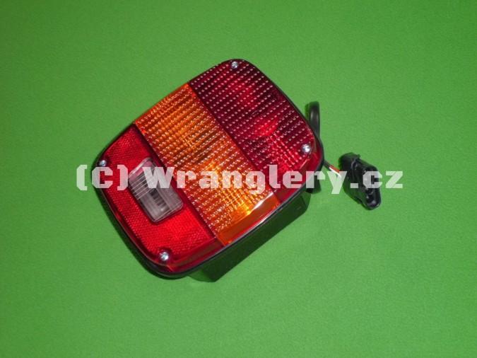 Zadní lampa Jeep Wrangler YJ, EU homologace